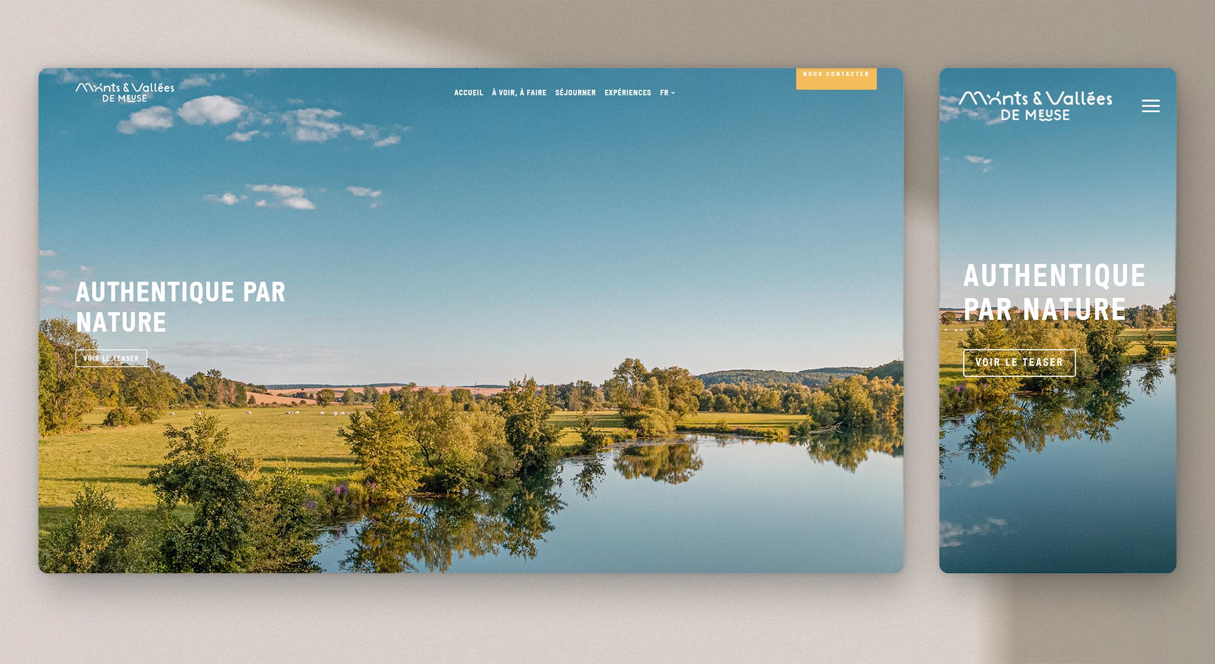 web design office de tourisme
